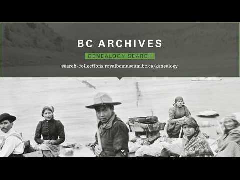 How-to: BC Archives Genealogy Search