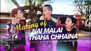Nai Malai Thaha Chhaina yapımı [Club Mix] ~ Cartoonz Mürettebat ve Alisha Rai