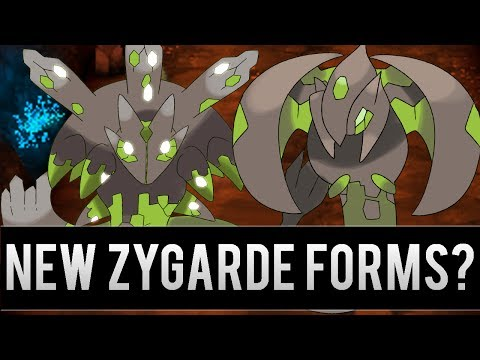 New Zygarde Forms in the Next Pokemon Games?