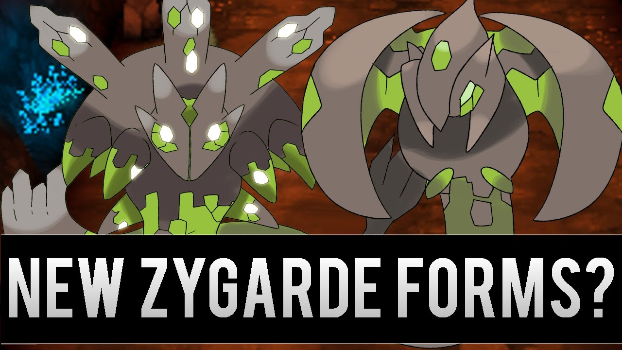New Zygarde Forms in the Next Pokemon Games? - YouTube