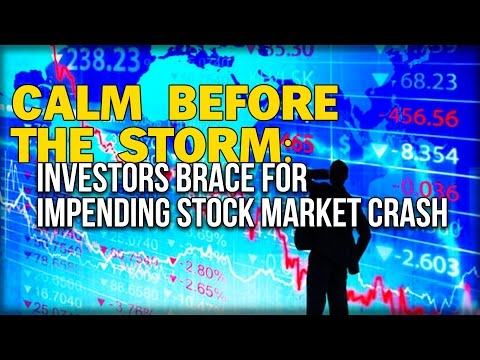 CALM BEFORE THE STORM: INVESTORS BRACE FOR IMPENDING STOCK MARKET CRASH