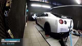 Reprogrammation moteur Nissan GTR 3.8 Bi-Turbo 485hp @ 609hp (Stage 2) par BR-Performance