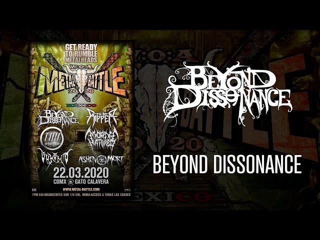 Beyond Dissonance en W:O:A Metal Battle México 2020