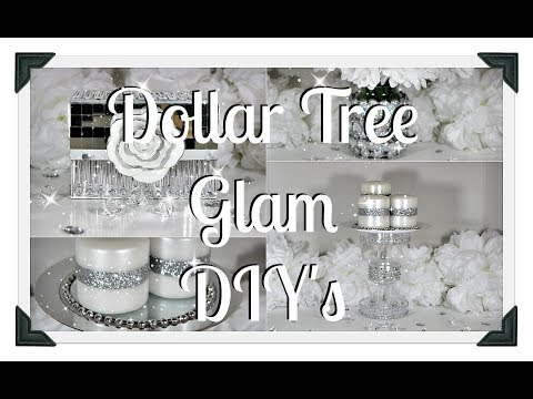 NEW DIY's|| Glam Mirrored Box|| Candle Stand|| Vase