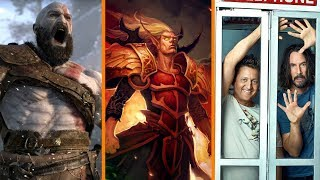 Single-Player Games NOT DYING? + Prison for World of Warcraft Hacker + Bill & Ted 3 IS HAPPENING
