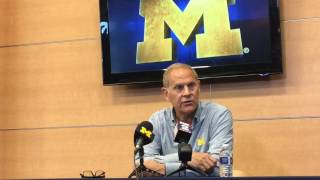 John Beilein discusses NBa Draft decisions from D.J. Wilson and Moritz Wagner
