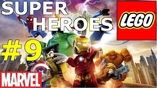 LEGO MARVEL Super Heroes - The Doctor on Call. Walkthrough game. Let