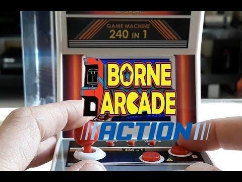Unboxing Mini Borne Arcade Retro 8 BIT De Chez ACTION