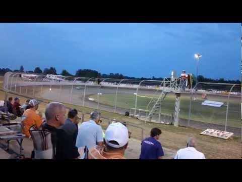 John Blankenship Qualifying at Magnolia Motor Speedway 2012 LOLMDS