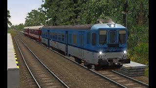 Microsoft Train Simulator Trať 323 Os 3171 Valašské Meziříčí Frenštát Pod Radhoštěm