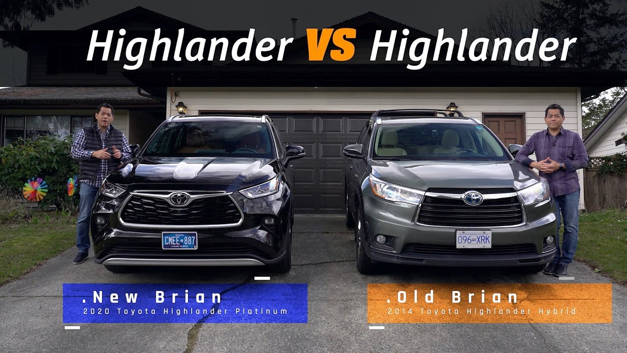 2020 Toyota Highlander Comparison Should We Trade Ours In Youtube