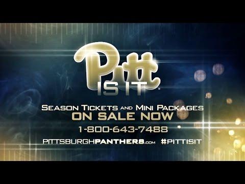 Pitt Football Season Tickets Promo