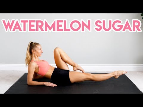 Harry Styles - Watermelon Sugar ABS WORKOUT CHALLENGE