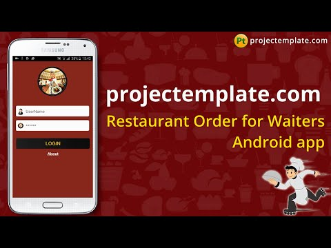 Restaurant Order for Waiters Android App source code