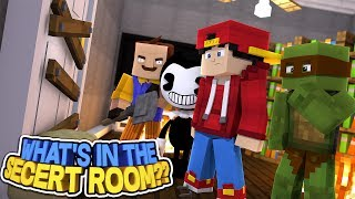 Minecraft Adventure - WHATS IN THE SECERT ROOM?!!!