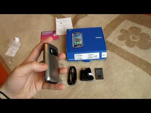 Nokia C6-01 Review and Unboxing [HD]