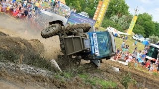 """Гонки на тракторах """"Бизон трек шоу 2014"""" Лучшие моменты"""
