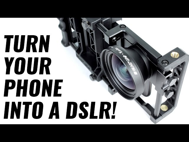 TURN YOUR PHONE INTO A PROFESSIONAL DSLR CAMERA AT CES 2017 | Mindstream Studio