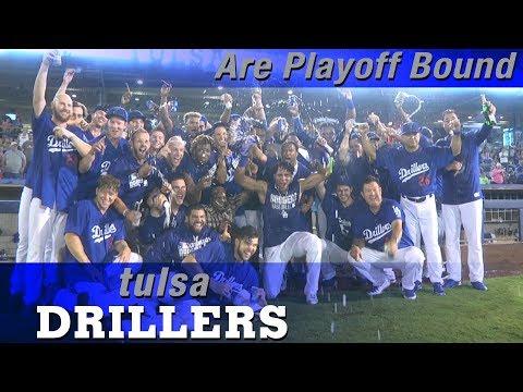 Tulsa Drillers Are Playoff Bound