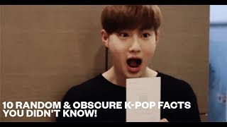 10 Random & Obscure K-Pop Facts You Didn't Know!