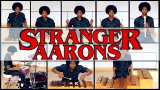 """Stranger Things"" Main Theme (on Orff Xylophones, Drumset, & Recorder) by Aaron Grooves"