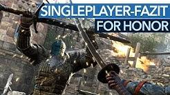 For Honor - Singleplayer-Fazit: Lohnt es sich für Solo-Spieler?