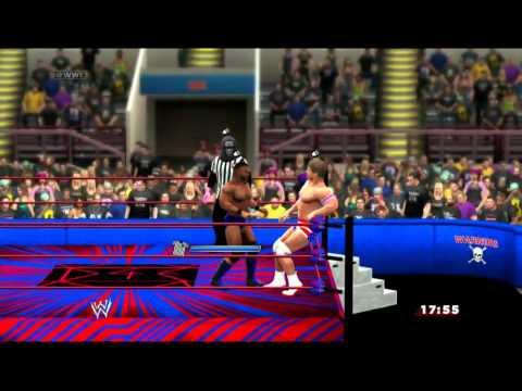 D4E Domination Snazzy Harbor vs Zalexd3600 Xbox Live Match WWE2K14
