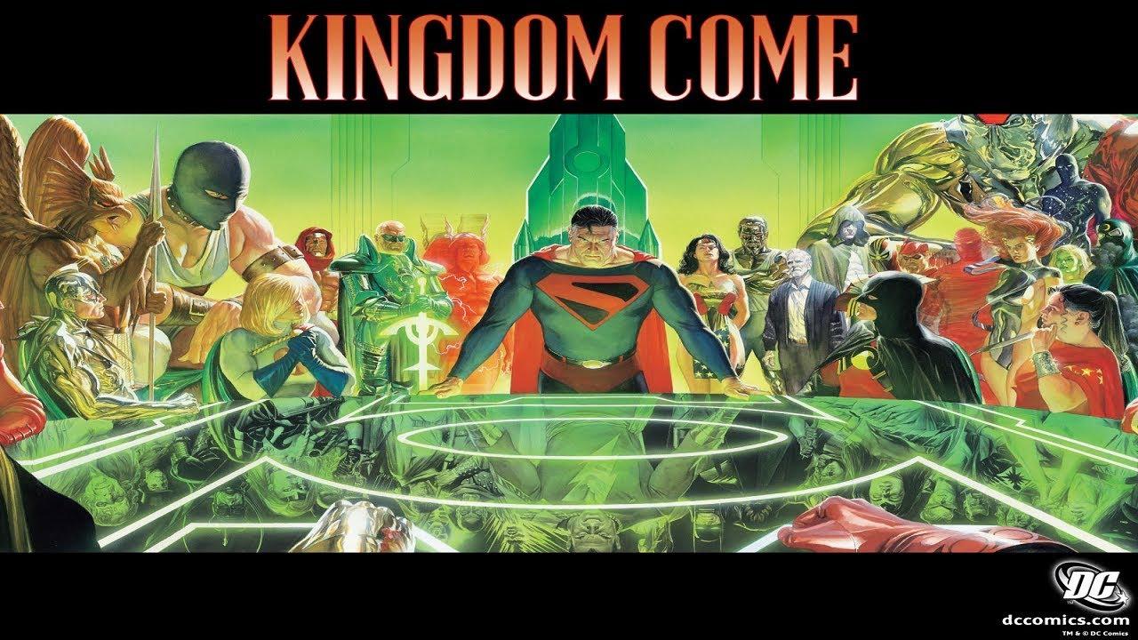 kingdom come comic ile ilgili görsel sonucu