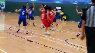 2016 九龍東區小學分會籃球比賽(女子組) 秀茂坪天主教小