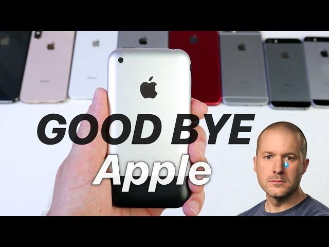 Jony Ive is Leaving Apple