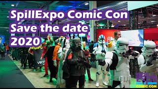 SpillExpo Comic Con 2020 - Save the date