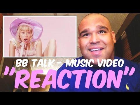 Miley Cyrus - BB Talk Music Video [REACTION]