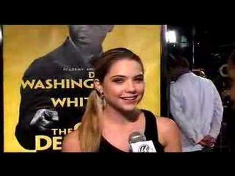 Actress Ashley Benson On The Red Carpet Quotthe Great