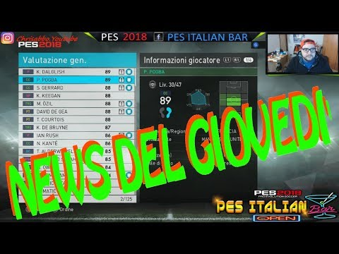 PES NEWS - LE NEWS DEL GIOVEDI' + BALL OPENING LIVERPOOL LEGENDS!