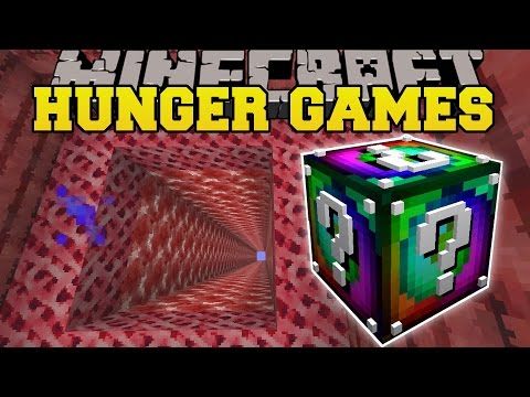 Minecraft: DIMENSION JUMPER HUNGER GAMES - Lucky Block Mod - Modded Mini-Game
