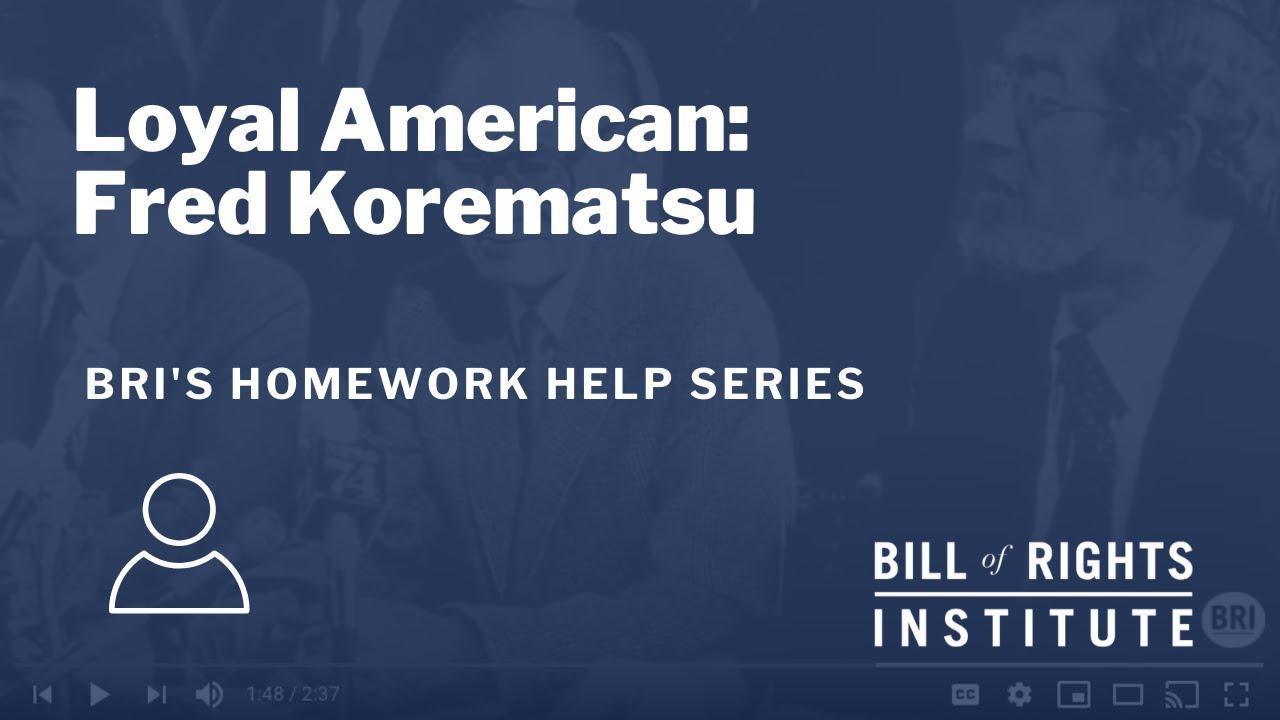Homework help bill of rights institute