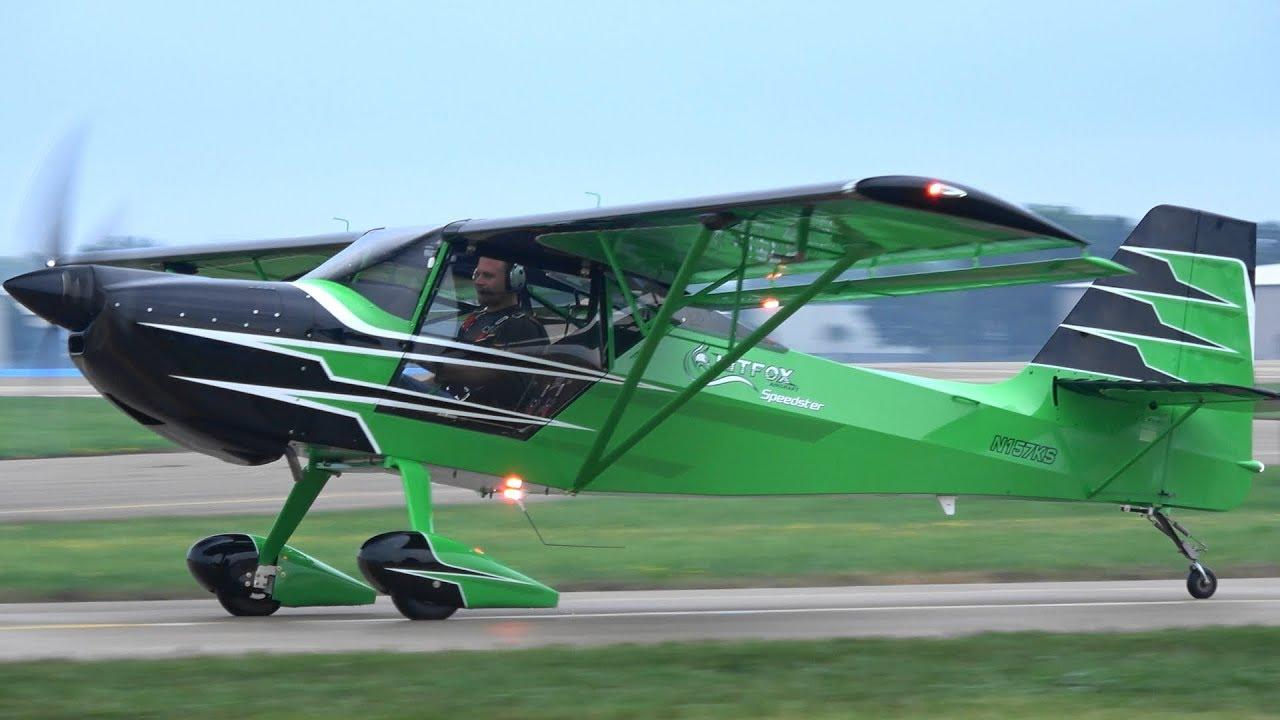 Kitfox Speedster Aerobatics with Kyle Franklin | Abbotsford