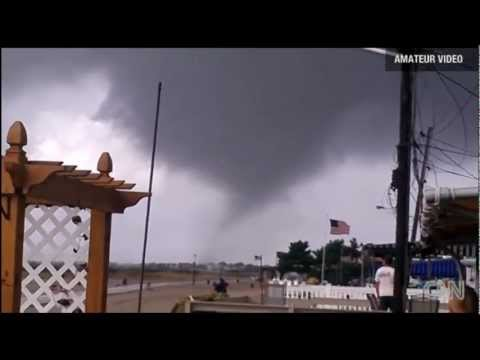 Tornado en Nueva York. Nuevo Video Amateur en CNN HD (8 de setiembre de 2012)