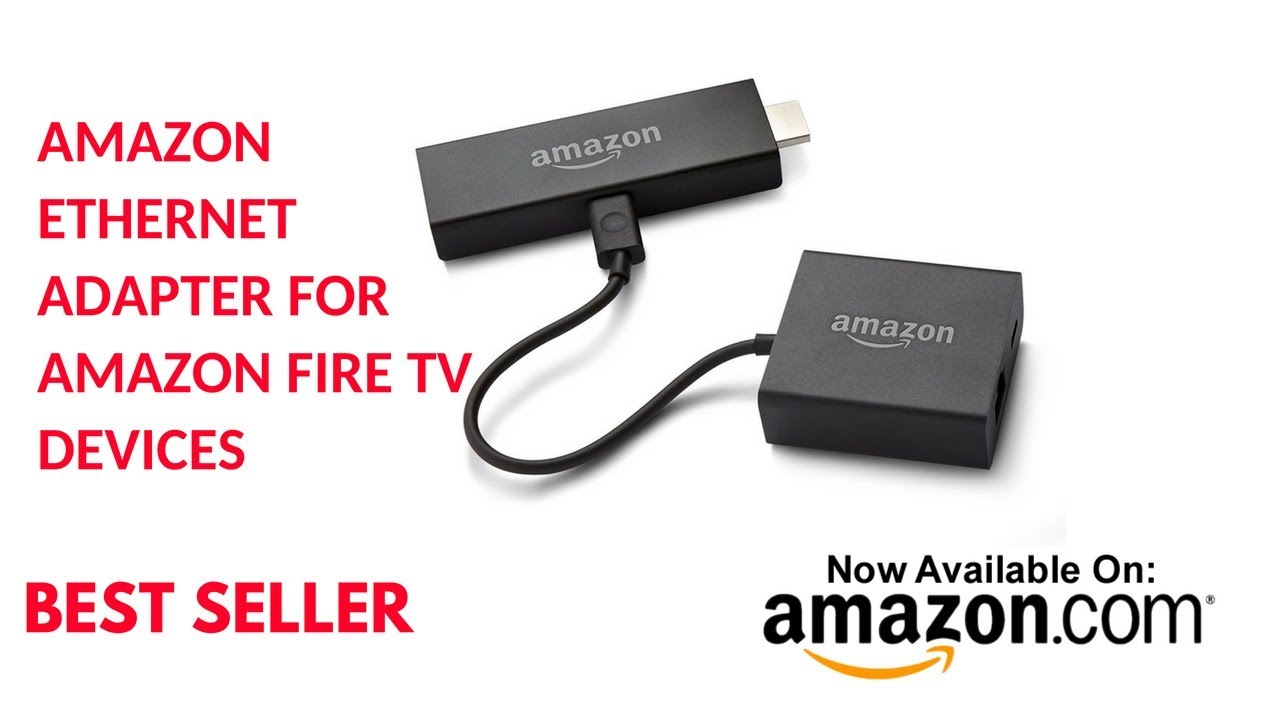Amazon Ethernet Adapter for Fire TV Devices