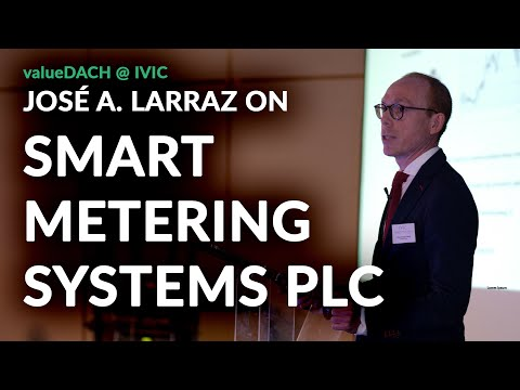 Is Smart Metering Systems also a smart investment? José Antonio Larraz (EQUAM) on the british stock