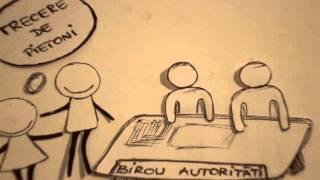 Repeat youtube video ROMANIA de IMPACT - Bzzzanimatii Ep. 3 - Vine zebra pe Mehedinti