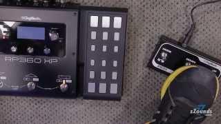 zZounds.com: DigiTech RP360XP Guitar Multi-Effects Pedal