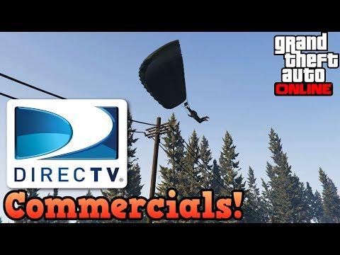 Direct TV commercials in GTAV
