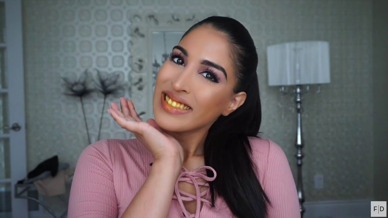 How To Whiten Teeth Instantly At Home Youtube