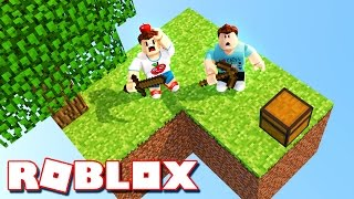 NEW MINECRAFT IN A ROBLOX GAME!?