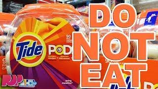 TIDE POD CHALLENGE - Teens Eating Tide Pods