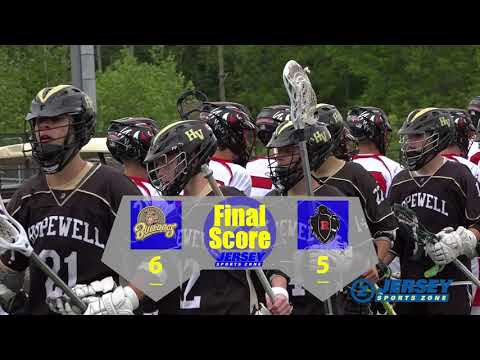 Hopewell Valley 6 Robbinsville 5 Boys Lacrosse Group 2 Quart