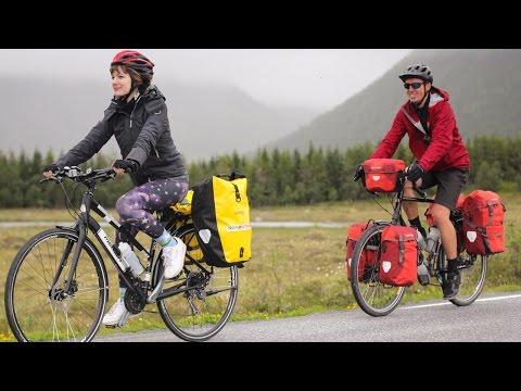 Epic Adventure Travel Bike Tour in Arctic Norway - EP. #129