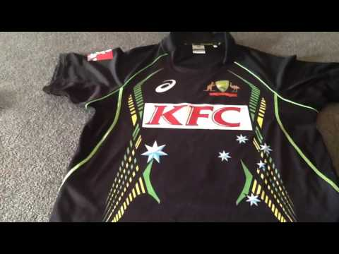 George Bailey Australian T20 Cricket Signed Playing Shirt