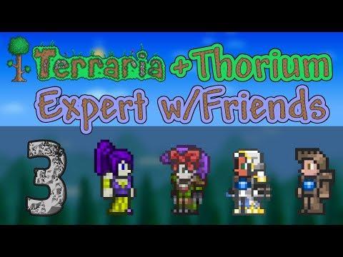 Terraria + Thorium Expert Multi - Ep. 3 - Thunderbird and Nestlings, Very, Very, Resting in Peace!